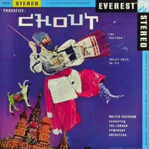 Original album: Sergei Prokofiev, Chout - Suite, Op.21a, Walter Susskind conducting the London Symphony Orchestra, Everest label, 1958